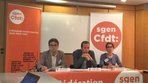 Conférence de rentrée du Sgen-CFDT, le 6/9/16.
