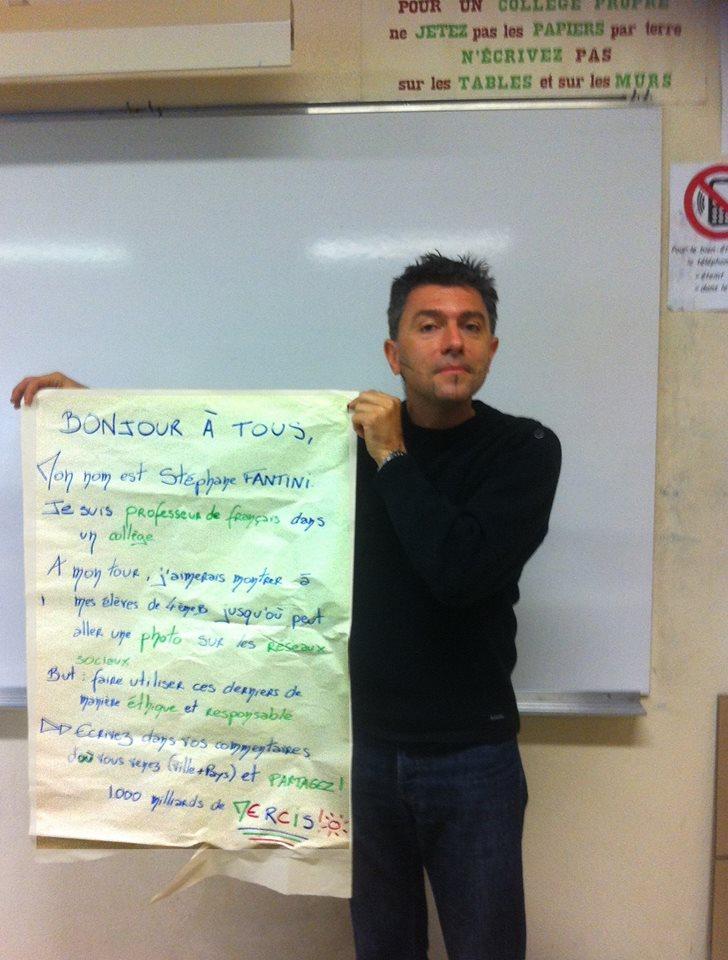 Un prof fait un buzz mondial pour sensibiliser aux risques des réseaux sociaux