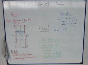 Une carte heuristique conçue par les élèves d'E. Tranchant.
