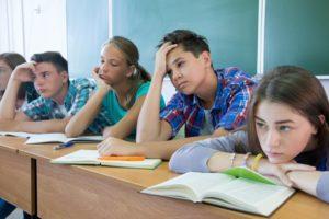 teens in classroom © yanlev