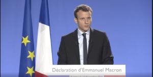 Discours Emmanuel Macron - Source En Marche live !