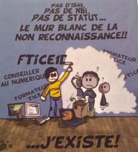 Dessin de l'association nationale des formateurs TICE