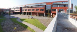 Le Lycée du Pays de Condé, à Condé-sur-Escaut