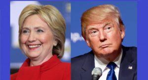 Hillary Clinton et Donald Trump © Gage Skidmore & Michael Vadon