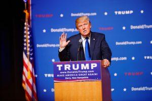 Le candidat républicain Donald Trump © Michael Vadon
