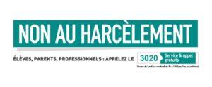 """Logo de la journée nationale """"Non au harcèlement"""" © MENESR"""