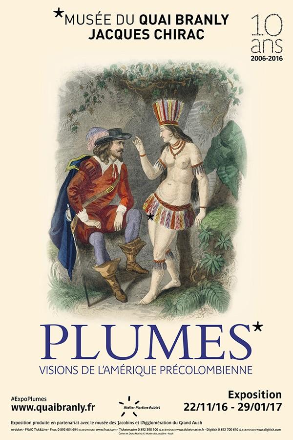 Une expo à voir pendant les vacances de Noël : «Plumes», au musée du Quai Branly