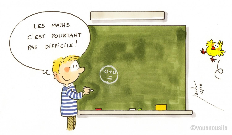 Les élèves français n'ont pas la bosse des maths !