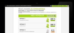 Projet Voltaire / Les Fondamentaux (sur tablette)
