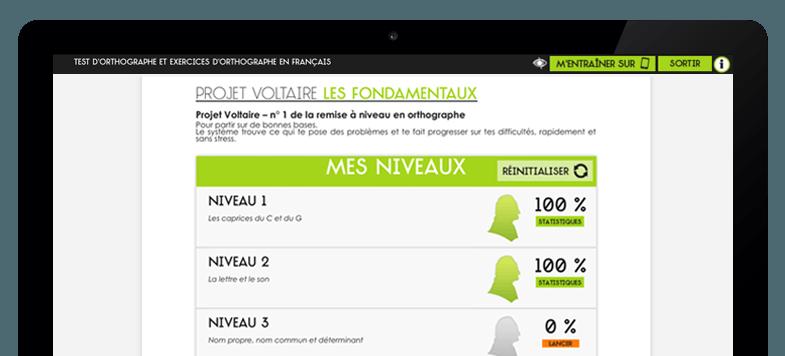 «Les Fondamentaux» du Projet Voltaire : un outil d'apprentissage du français en primaire