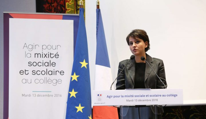 Najat Vallaud-Belkacem : «Nous avons besoin de mixité sociale»