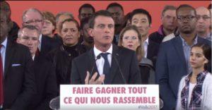 candidature de Manuel Valls à la présidentielle 2017