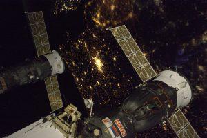 Photo prise depuis l'ISS / Compte Twitter de Thomas Pesquet
