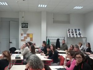 Classe ouverte de Christophe Gombert, prof de maths à Pechbonnieu / CLISE 2016