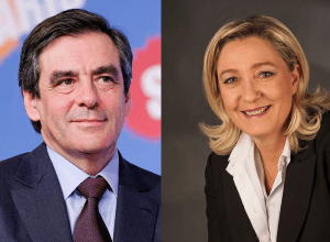 François Fillon et Marine Le Pen / Licence CC / Wikimedia