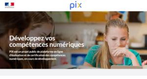 La plateforme PIX permettra de valider ses compétences numériques, à la place du B2I.