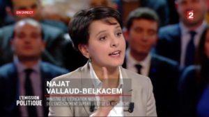 L'Emission Politique / Duel entre Najat Vallaud-Belkacem et Marine Le Pen / 9 février 2017