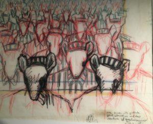 """Maus"", d'Art Spiegelman (1986) / Planche originale"