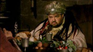 Le Roi Burgonde dans Kaamelott / Capture d'écran © M6 © M6 / Kaamelott