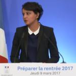 Rentrée 2017 : les mesures de Najat Vallaud-Belkacem risquent-elles d'être remises en cause ?