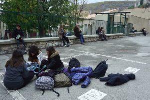 Silence, on lit / Collège de Banon