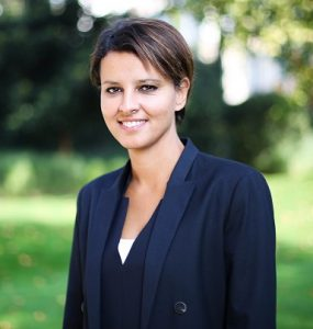Najat Vallaud-Belkacem - Ministère de l'éducation nationale – photo Margot L'Hermite