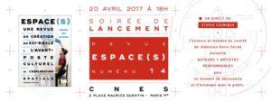 Le CNES organise une soirée de lancement pour le n°14 de sa revue Espace(s) © CNES