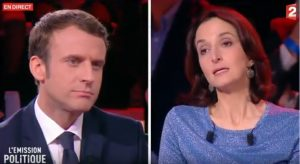Emmanuel Macron face à Barbara Lefebvre © @france2