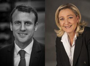 Emmanuel Macron / Marine Le Pen / Licences CC / Wikimedia