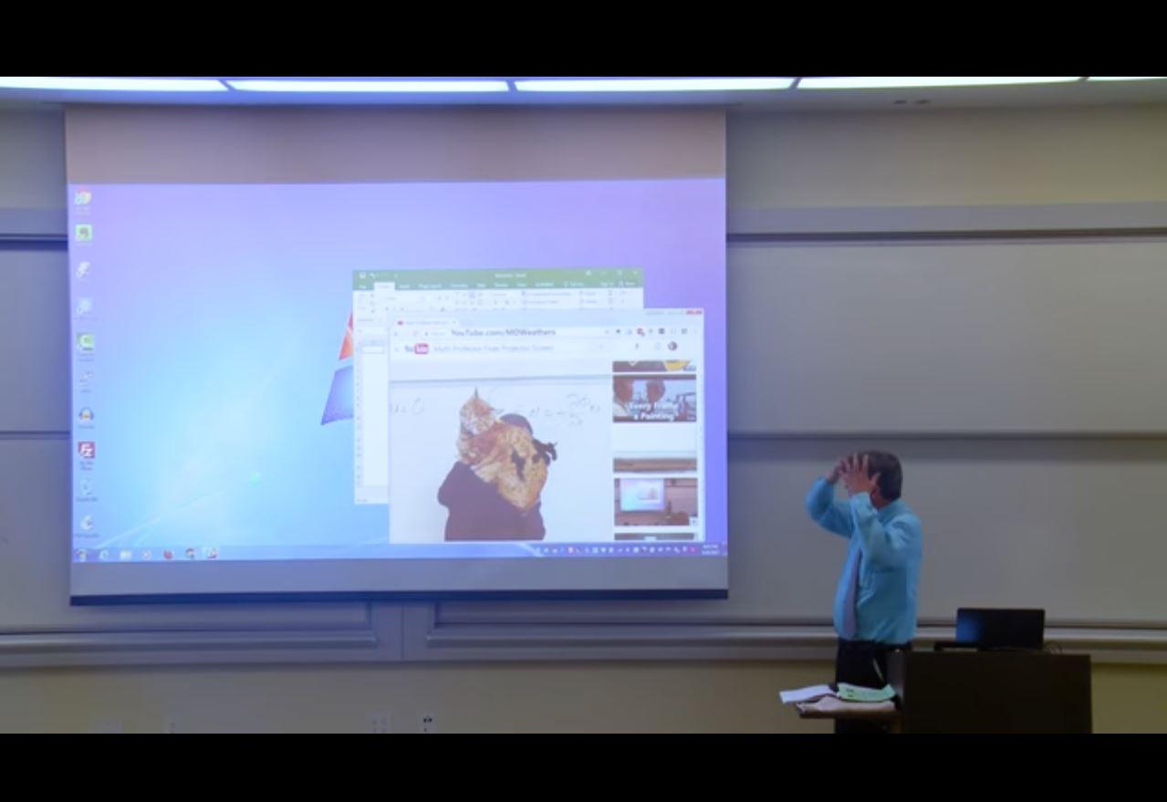 Le poisson d'avril hilarant d'un prof de maths à ses élèves