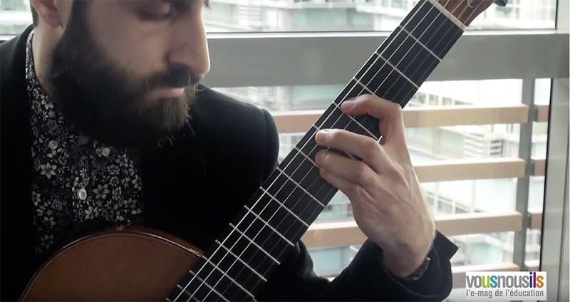 Rencontre : Armen Doneyan, la beauté de la guitare classique