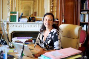 Frédérique Vidal, ministre de l'Enseignement supérieur, de la Recherche et de l'Innovation / © UNS