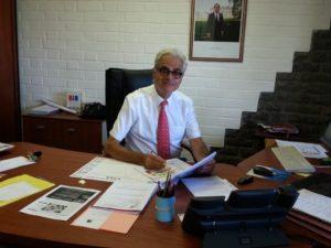 Denis Lacouture, secrétaire général au vice-rectorat de Mayotte (photo : vice-rectorat de Mayotte / DR)