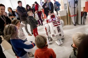 robot enfants à la maker faire