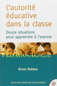 L'autorité éducative dans la classe