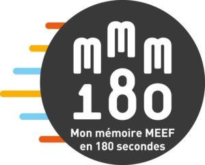 Mon Mémoire MEEF en 180's 2017