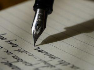 Ecriture à la main / Pixabay / Licence CC
