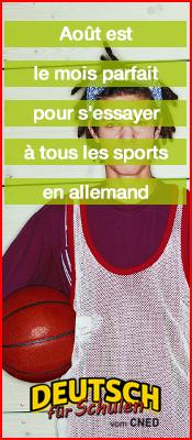 Août est le mois parfait pour s'essayer à tous les sports en allemand  - Ressources gratuits en allemand