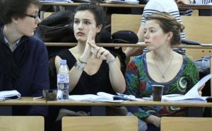 """Un mini-débat, lors de l'amphi """"interactif"""" de Brahim Lamine / UPMC"""