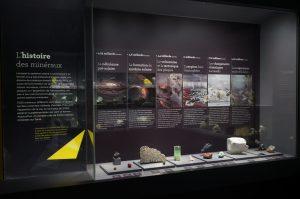 Exposition Trésors de la Terre / L'histoire des minéraux / Photo DR