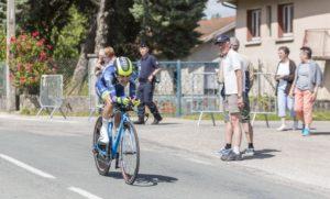Guillaume Martin lors de la 4e étape du Critérium du Dauphiné 2017 (©Radu Razvan / Shutterstock)