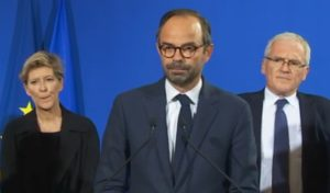 Ouragan Irma : la conférence d'Edouard Philippe (photo : CNews)