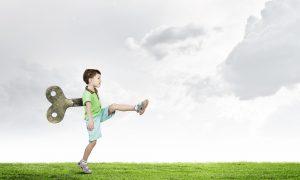 Enfant hyperactif / Shutterstock