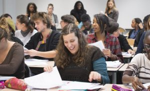 ESPE de l'académie de Versailles - Etudiants de Master 1 en conference / Centre de formation de Gennevilliers / Devenirenseignant.gouv.fr