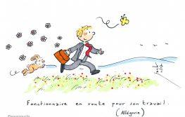 dessin humour fonctionnaires