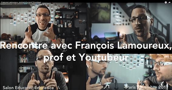François Lamoureux : portrait d'un prof Youtubeur