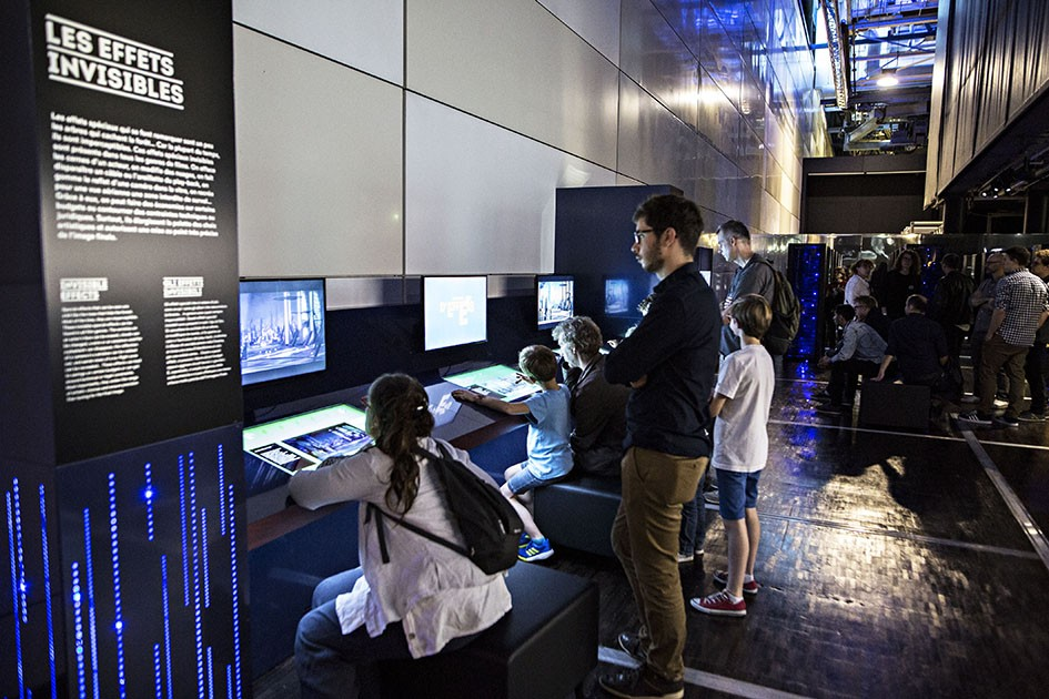 Exposition pédagogique : les secrets des effets spéciaux dévoilés à la Cité des sciences