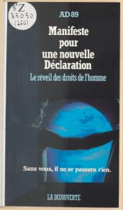 Couverture du manifeste rédigé par l'association de Jean-Michel Blanquer