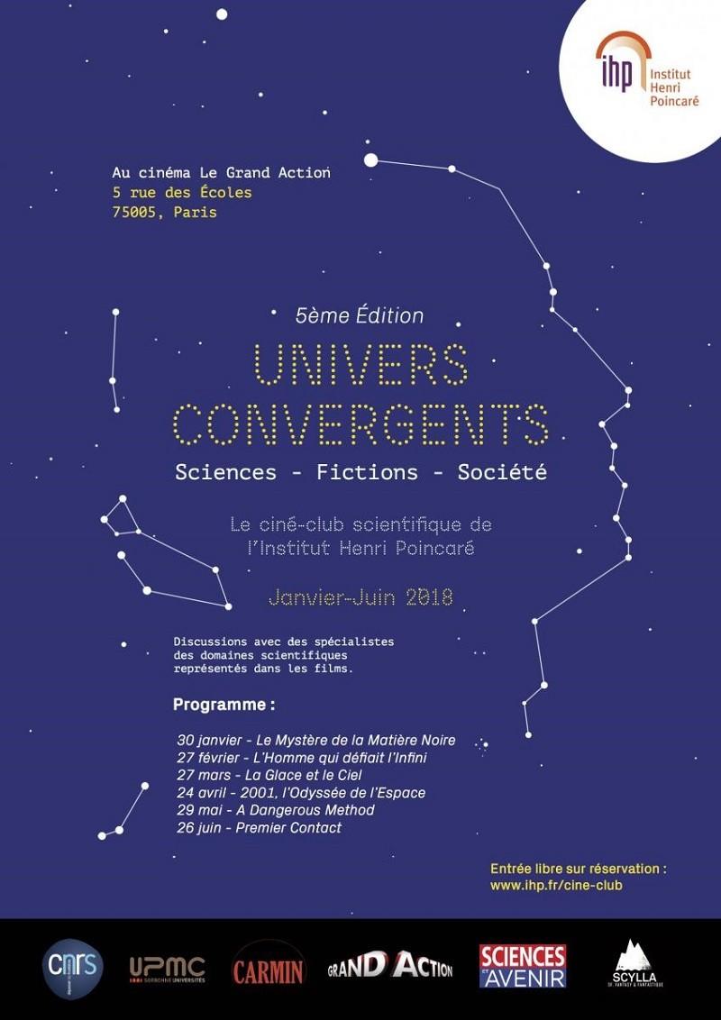 Lancement de la 5ème édition du ciné-club de l'Institut Henri Poincaré