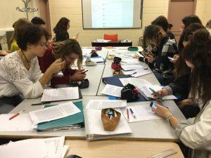 i-voix : un projet numérique collaboratif d'écriture en partenariat avec des lycéens italiens / classe de Jean-Michel Le Baut